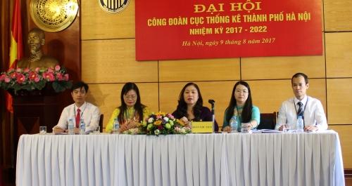 Công đoàn Cục Thống kê TP Hà Nội đã tổ chức Đại hội Công đoàn nhiệm kỳ 2017-2022
