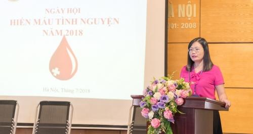 Cục Thống kê thành phố Hà Nội tổ chức Ngày hội hiến máu tình nguyện 2018